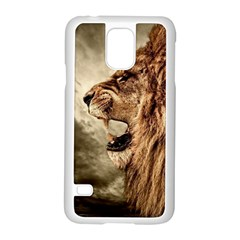 Roaring Lion Samsung Galaxy S5 Case (white)