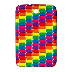 Rainbow 3d Cubes Red Orange Samsung Galaxy Note 8 0 N5100 Hardshell Case