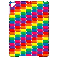Rainbow 3d Cubes Red Orange Apple Ipad Pro 9 7   Hardshell Case