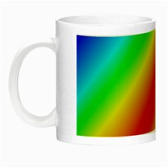 Background Diagonal Refraction Night Luminous Mugs