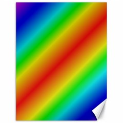 Background Diagonal Refraction Canvas 18  X 24