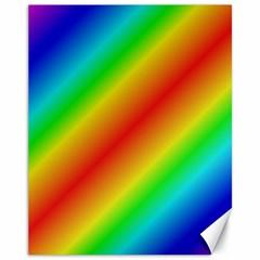 Background Diagonal Refraction Canvas 11  X 14