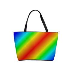 Background Diagonal Refraction Shoulder Handbags