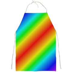 Background Diagonal Refraction Full Print Aprons