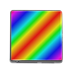 Background Diagonal Refraction Memory Card Reader (square)