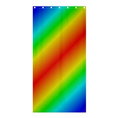 Background Diagonal Refraction Shower Curtain 36  X 72  (stall)
