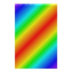 Background Diagonal Refraction Shower Curtain 48  X 72  (small)