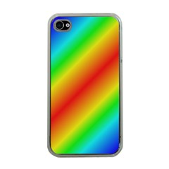 Background Diagonal Refraction Apple Iphone 4 Case (clear)