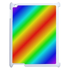 Background Diagonal Refraction Apple Ipad 2 Case (white)