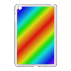 Background Diagonal Refraction Apple Ipad Mini Case (white)