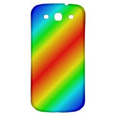 Background Diagonal Refraction Samsung Galaxy S3 S Iii Classic Hardshell Back Case