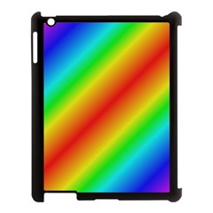 Background Diagonal Refraction Apple Ipad 3/4 Case (black)