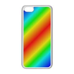 Background Diagonal Refraction Apple Iphone 5c Seamless Case (white)