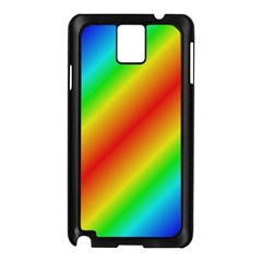 Background Diagonal Refraction Samsung Galaxy Note 3 N9005 Case (black)
