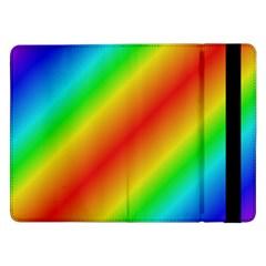 Background Diagonal Refraction Samsung Galaxy Tab Pro 12 2  Flip Case