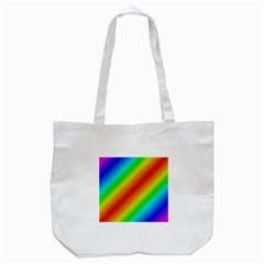 Background Diagonal Refraction Tote Bag (white)