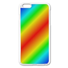 Background Diagonal Refraction Apple Iphone 6 Plus/6s Plus Enamel White Case