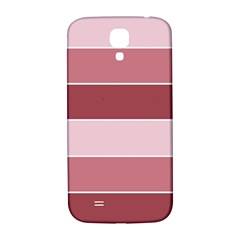 Striped Shapes Wide Stripes Horizontal Geometric Samsung Galaxy S4 I9500/i9505  Hardshell Back Case