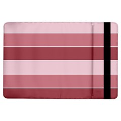 Striped Shapes Wide Stripes Horizontal Geometric Ipad Air Flip