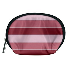 Striped Shapes Wide Stripes Horizontal Geometric Accessory Pouches (medium)