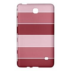Striped Shapes Wide Stripes Horizontal Geometric Samsung Galaxy Tab 4 (8 ) Hardshell Case