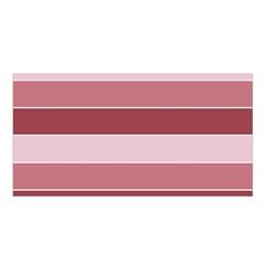 Striped Shapes Wide Stripes Horizontal Geometric Satin Shawl