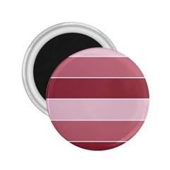 Striped Shapes Wide Stripes Horizontal Geometric 2 25  Magnets