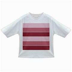Striped Shapes Wide Stripes Horizontal Geometric Infant/toddler T Shirts