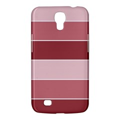 Striped Shapes Wide Stripes Horizontal Geometric Samsung Galaxy Mega 6 3  I9200 Hardshell Case