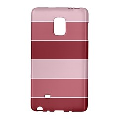 Striped Shapes Wide Stripes Horizontal Geometric Galaxy Note Edge