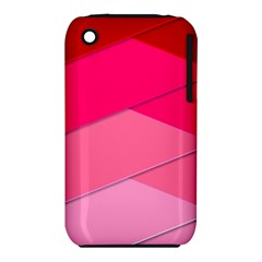 Geometric Shapes Magenta Pink Rose Iphone 3s/3gs