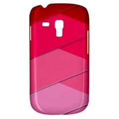 Geometric Shapes Magenta Pink Rose Galaxy S3 Mini