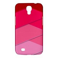 Geometric Shapes Magenta Pink Rose Samsung Galaxy Mega 6 3  I9200 Hardshell Case