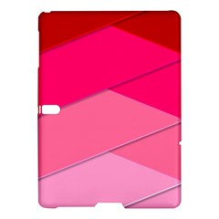 Geometric Shapes Magenta Pink Rose Samsung Galaxy Tab S (10 5 ) Hardshell Case