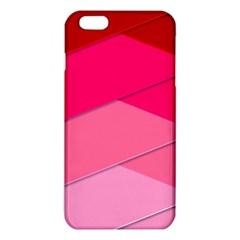 Geometric Shapes Magenta Pink Rose Iphone 6 Plus/6s Plus Tpu Case