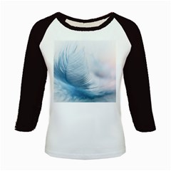 Feather Ease Slightly Blue Airy Kids Baseball Jerseys