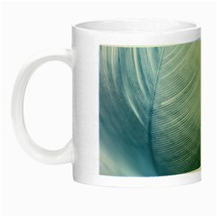 Feather Ease Slightly Blue Airy Night Luminous Mugs