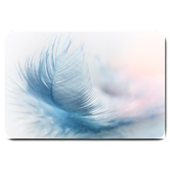 Feather Ease Slightly Blue Airy Large Doormat