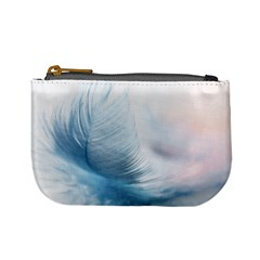 Feather Ease Slightly Blue Airy Mini Coin Purses