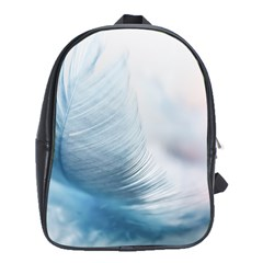 Feather Ease Slightly Blue Airy School Bag (xl)