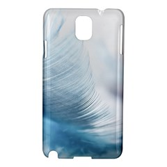 Feather Ease Slightly Blue Airy Samsung Galaxy Note 3 N9005 Hardshell Case