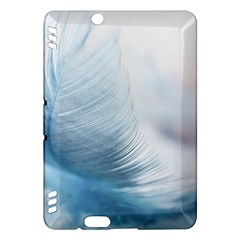 Feather Ease Slightly Blue Airy Kindle Fire Hdx Hardshell Case