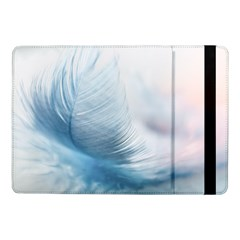 Feather Ease Slightly Blue Airy Samsung Galaxy Tab Pro 10 1  Flip Case