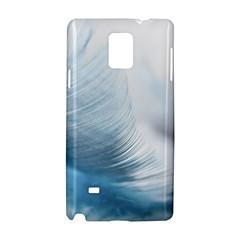 Feather Ease Slightly Blue Airy Samsung Galaxy Note 4 Hardshell Case