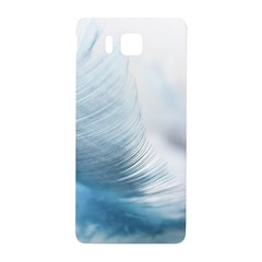 Feather Ease Slightly Blue Airy Samsung Galaxy Alpha Hardshell Back Case