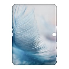 Feather Ease Slightly Blue Airy Samsung Galaxy Tab 4 (10 1 ) Hardshell Case