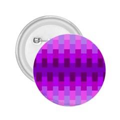 Geometric Cubes Pink Purple Blue 2 25  Buttons