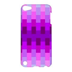 Geometric Cubes Pink Purple Blue Apple Ipod Touch 5 Hardshell Case