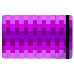 Geometric Cubes Pink Purple Blue Apple Ipad 2 Flip Case