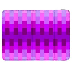 Geometric Cubes Pink Purple Blue Samsung Galaxy Tab 7  P1000 Flip Case